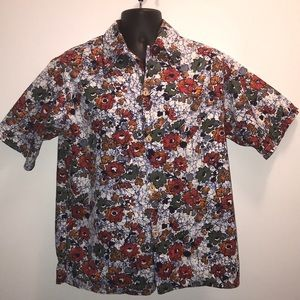 Vintage SEARS HAWAIIAN FASHIONS Shirt~retro S/M
